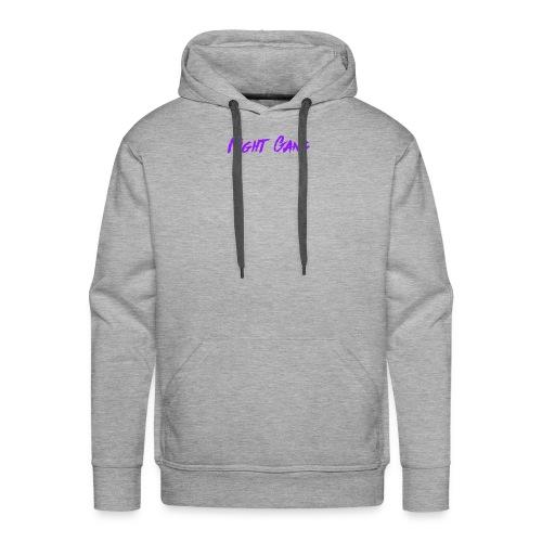 Night Gang logo - Men's Premium Hoodie