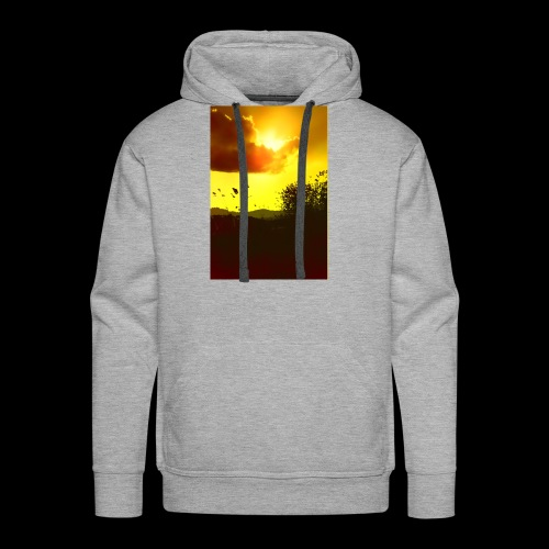 Sun Soaked Sky - Men's Premium Hoodie