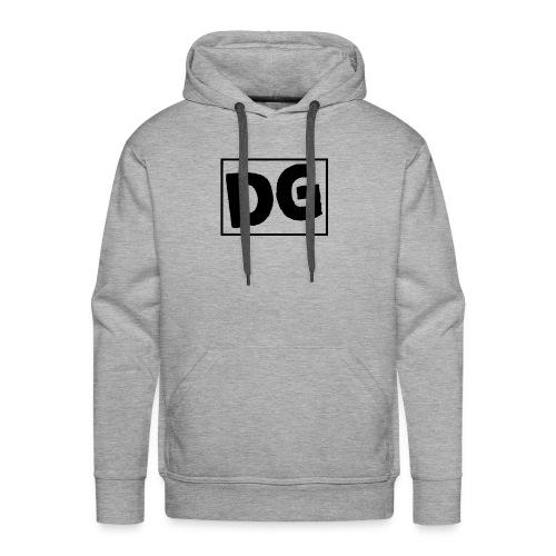 DG LOGO (Black) - Men's Premium Hoodie