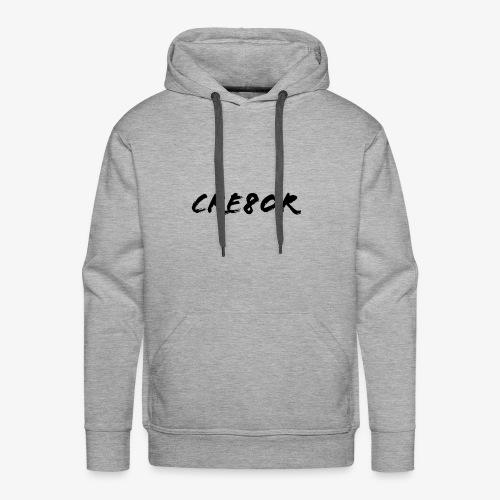 cre8or transparent - Men's Premium Hoodie