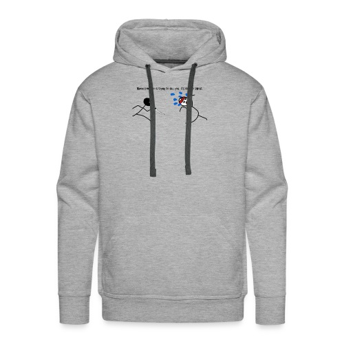Its okay to Sweat - Men's Premium Hoodie