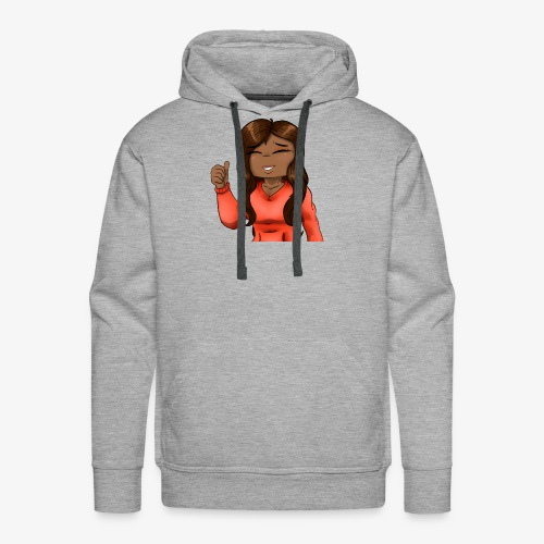 Haliee Thumbs up - Men's Premium Hoodie