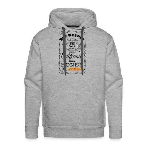 Beekeeper Whiskey lable - Men's Premium Hoodie