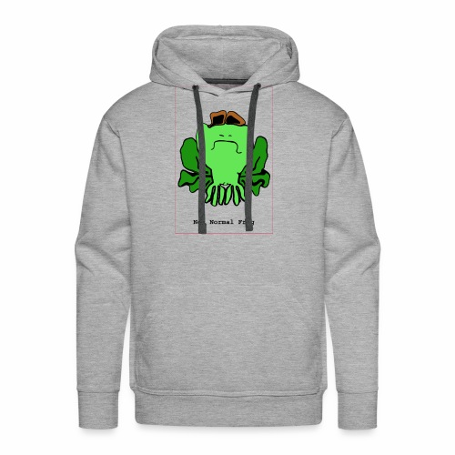 not normal frog - Men's Premium Hoodie
