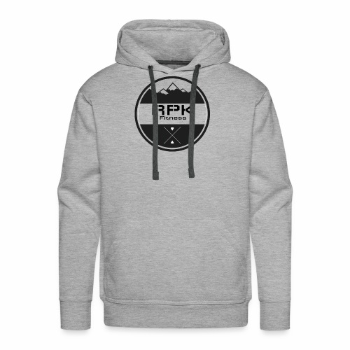 RPK Fit White - Men's Premium Hoodie