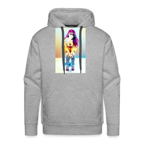 Rainbow Roxxy - Men's Premium Hoodie