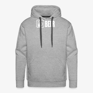 beer funny tshirt - Men's Premium Hoodie