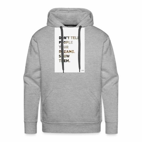 dreamer - Men's Premium Hoodie