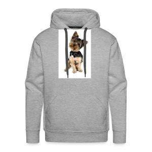 Curious pup - Men's Premium Hoodie