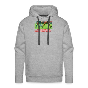 Only Love Can Break Your Heart - Men's Premium Hoodie