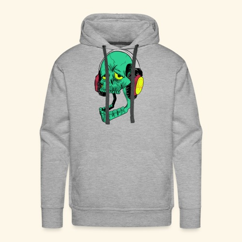 Mr. Green skull - Men's Premium Hoodie