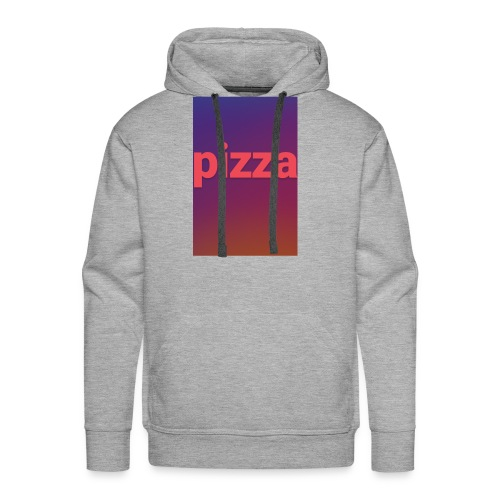 the pizza supreme - Men's Premium Hoodie