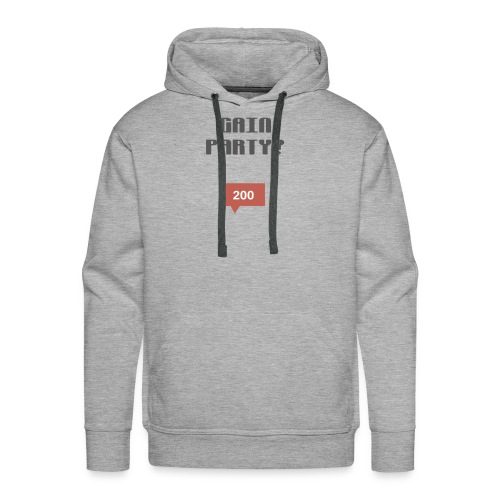 ULTIMATE GAIN PARTY COLLECTION 2017 - Men's Premium Hoodie