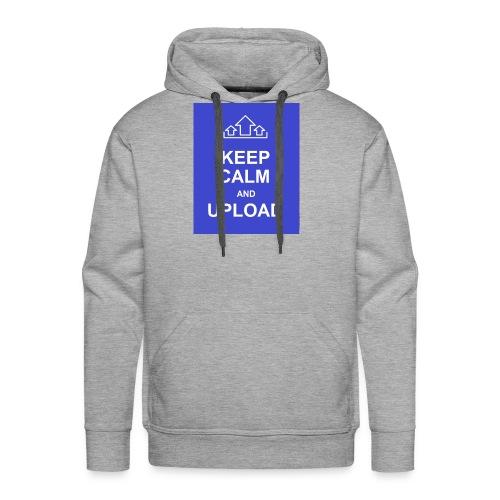 RockoWear Keep Calm - Men's Premium Hoodie