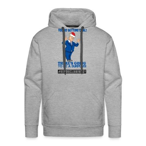 Trump Santa Shirt - Men's Premium Hoodie
