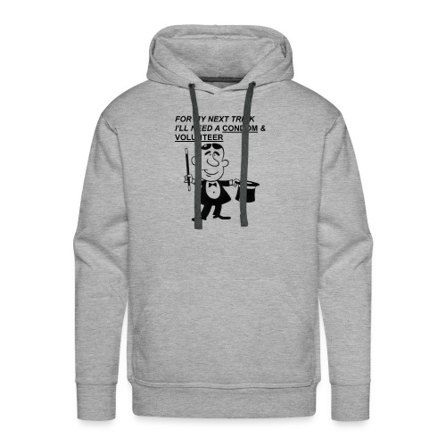 Magician Condom Shirt - Men's Premium Hoodie