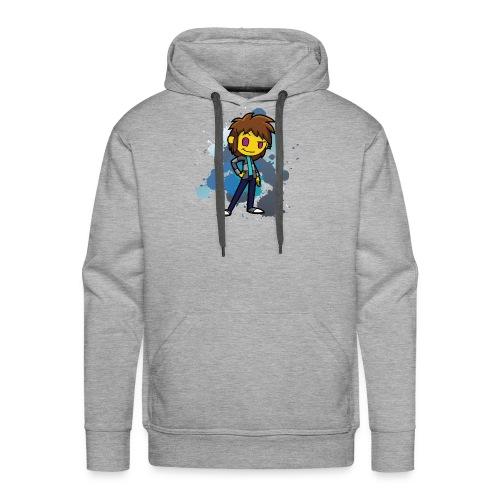 Darkar Paint Blue - Men's Premium Hoodie
