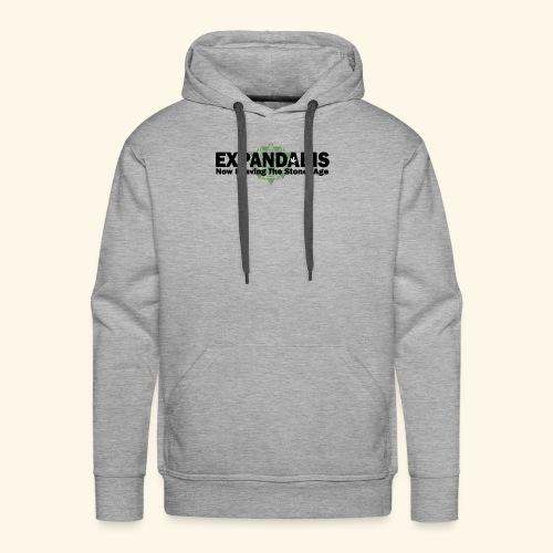 Expandabis Black Logo - Men's Premium Hoodie