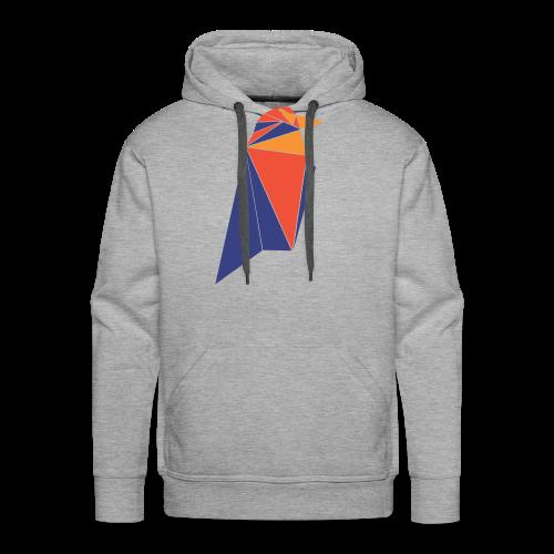 Ravencoin RVN Bird Logo - Men's Premium Hoodie