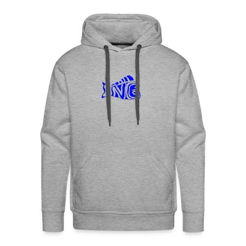DNG LOGO (BLUE) - Men's Premium Hoodie