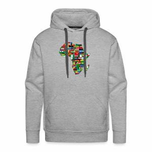 AfricaMap - Men's Premium Hoodie