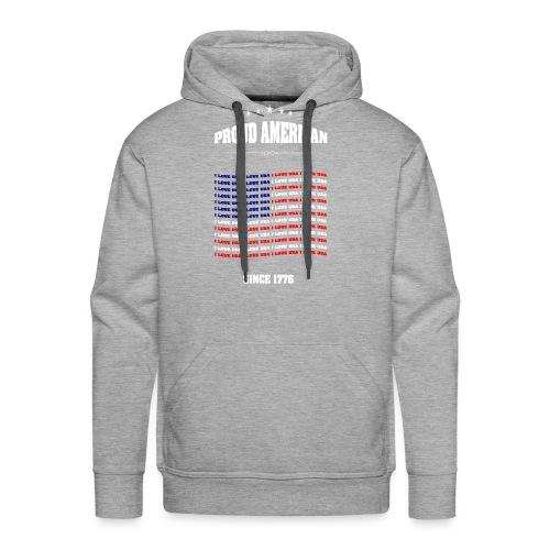 Proud american SINCE 1776 - Men's Premium Hoodie
