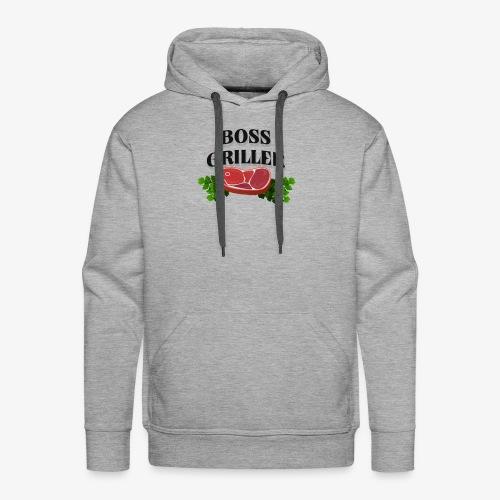 Boss Griller - Men's Premium Hoodie