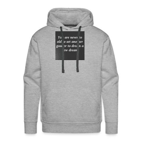 DreamChaser's Quote - Men's Premium Hoodie