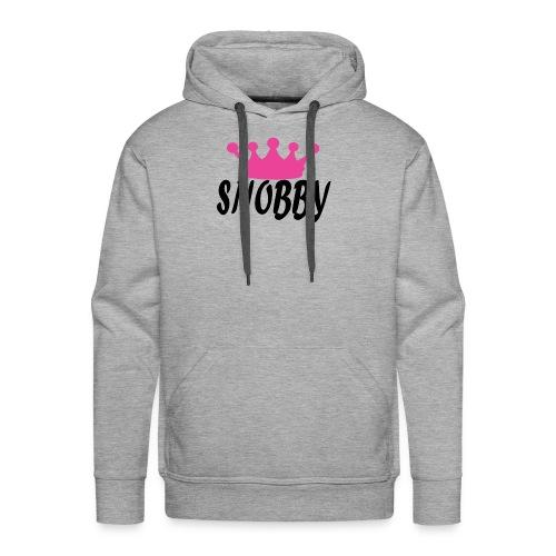 pink crown - Men's Premium Hoodie