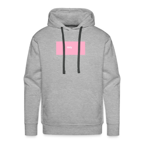 iddy in a pink box - Men's Premium Hoodie