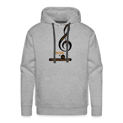 Remarkable Music - Men's Premium Hoodie