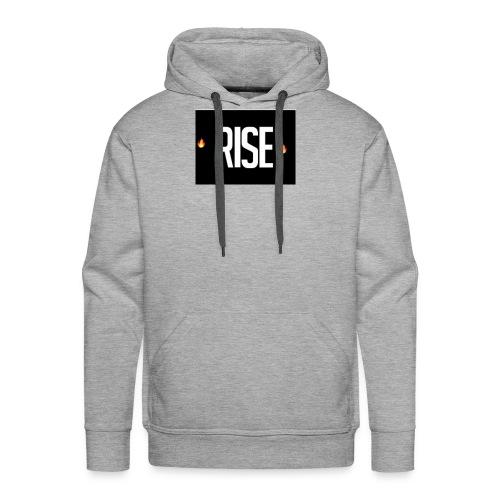 RIse Original Single - Men's Premium Hoodie