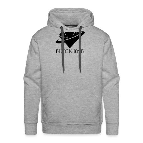 BLVCK BY B - Men's Premium Hoodie