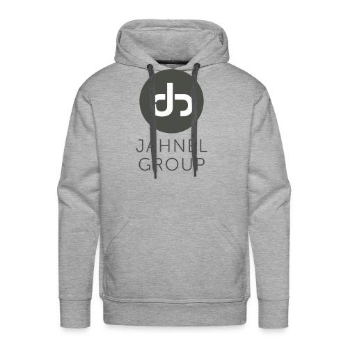 JG logo Stacked - Men's Premium Hoodie