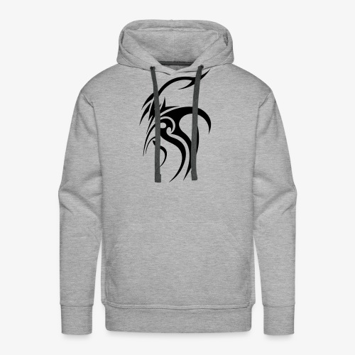 Cool tribal tattoo design - Men's Premium Hoodie