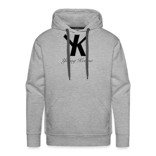 Young Kevino Official Logo (Black) - Men's Premium Hoodie