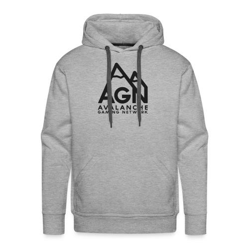 AGN Black Logo Hoodie - Men's Premium Hoodie