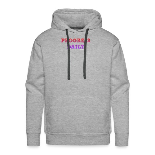 Progress Daily - Men's Premium Hoodie