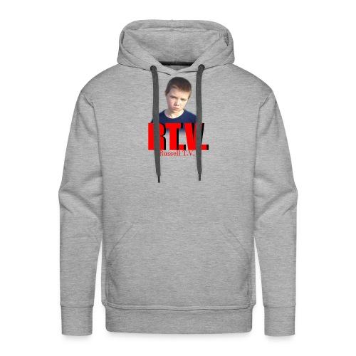 shirt back russell 2 - Men's Premium Hoodie