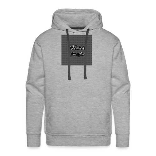 Slogan White Grey2 - Men's Premium Hoodie