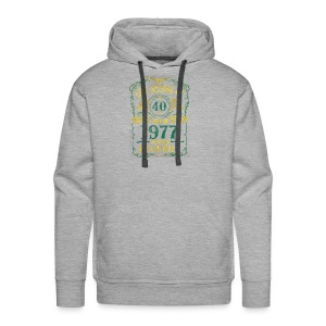 BORN In 1977 Year of Legends 40th - Men's Premium Hoodie