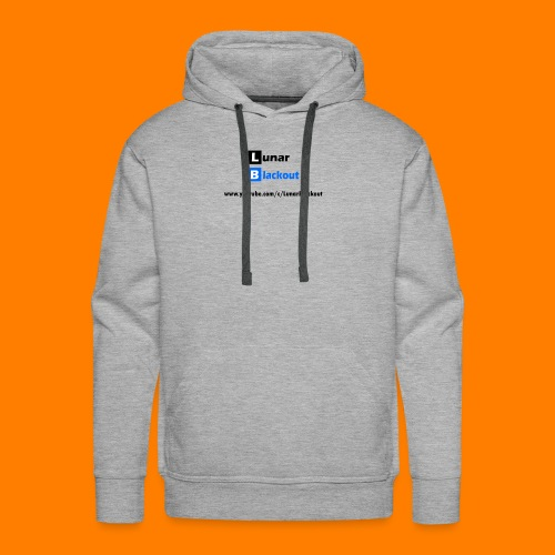 Lunar Shirt New Logo - Men's Premium Hoodie