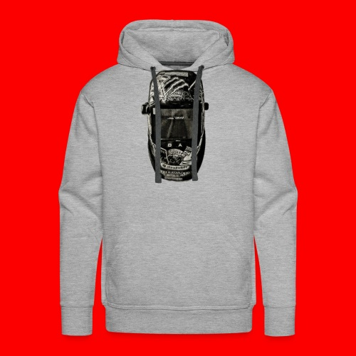 Helmet of a badass - Men's Premium Hoodie