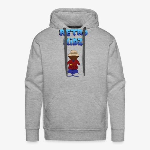 New Retro Kidz Back - Men's Premium Hoodie