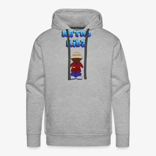 New Retro Kidz Back - Men's Premium Hoodie