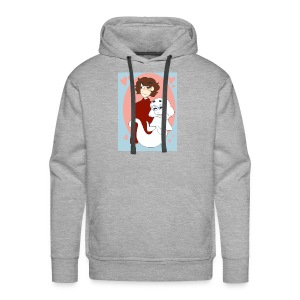 Valentines Day Cynical Ghost Shirt (By Meg Asia) - Men's Premium Hoodie