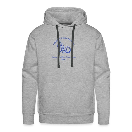 Original Member JudyBlue Tribe 2017 (blue logo) - Men's Premium Hoodie