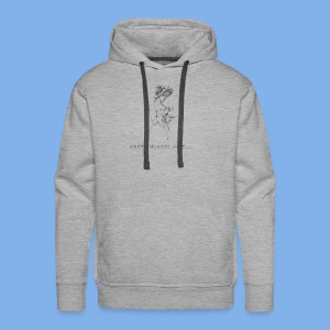 Vintage Fly (Keep Talkin' Shit) - Men's Premium Hoodie