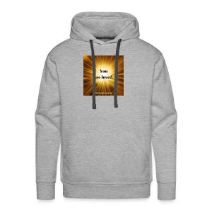 You are loved. - Men's Premium Hoodie
