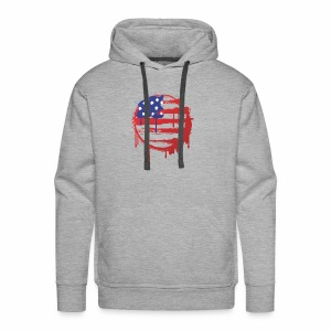 usa bleed - Men's Premium Hoodie